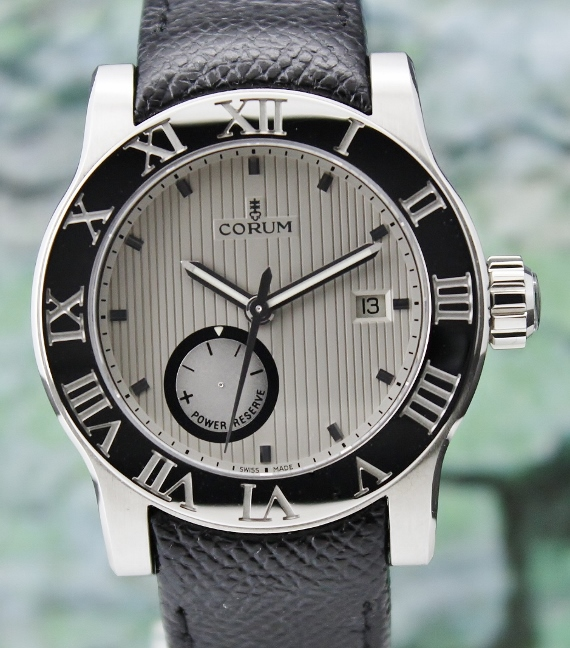 UNWORN CORUM ROMVLVS AUTOMATIC STAINLESS STEEL WATCH