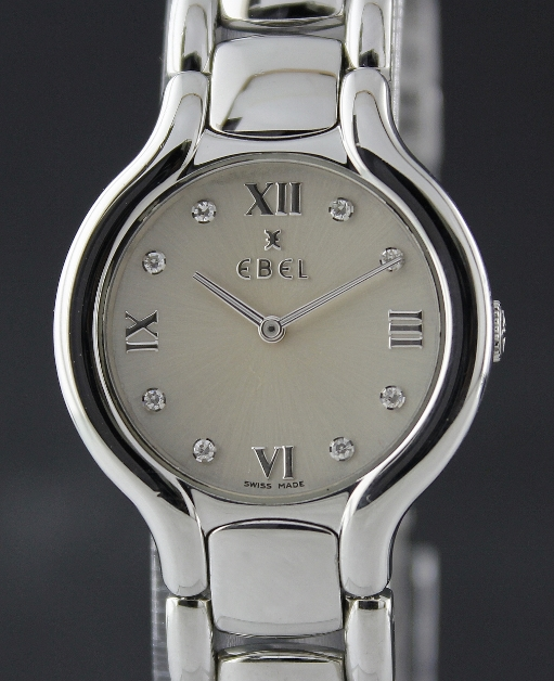Ebel Beluga Stainless Steel Diamond Watch
