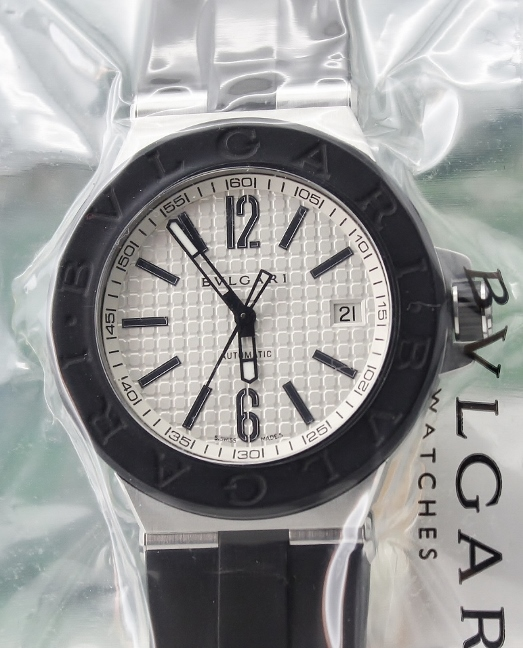 New Sealed Bvlgari Diagono Automatic Watch - DG40C6SVD