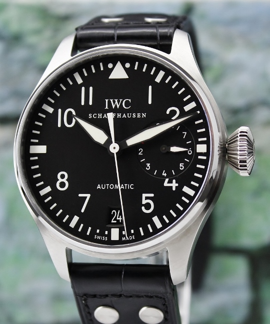 Like New Unpolished IWC Big Pilot Automatic 7 Days Power Reserve / IW500901