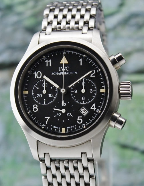 An IWC Der Flieger Chronograph Pilot Quartz Watch / 3741