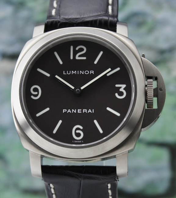 "A LIKE NEW PANERAI TITANIUM LUMINOR MARINA PAM 116 ""E"" SERIES"