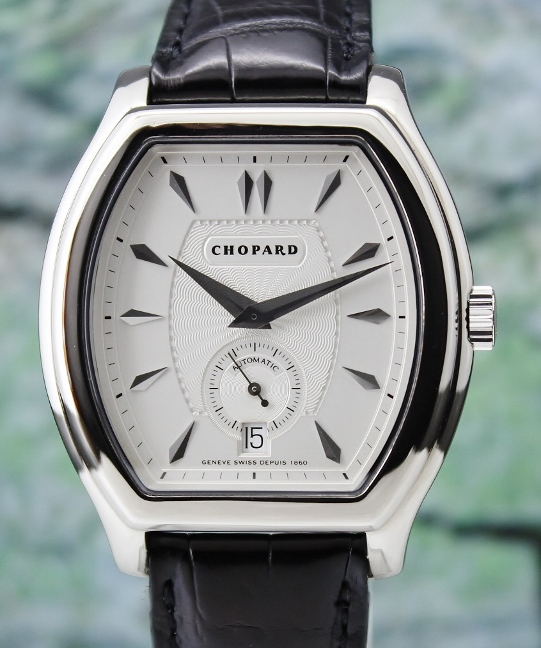 A Chopard 18K White Gold Automatic L.U.C Limited Edition Watch / 16/2267