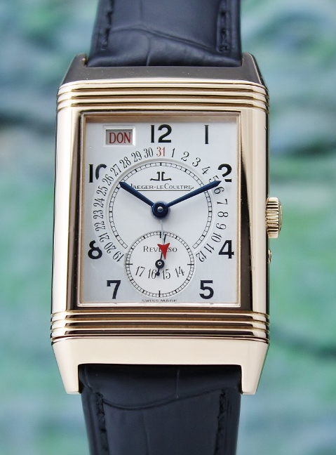 Jaeger-LeCoultre Reverso Manaul Winding 18K Rose Gold Day Date / 270.2.36
