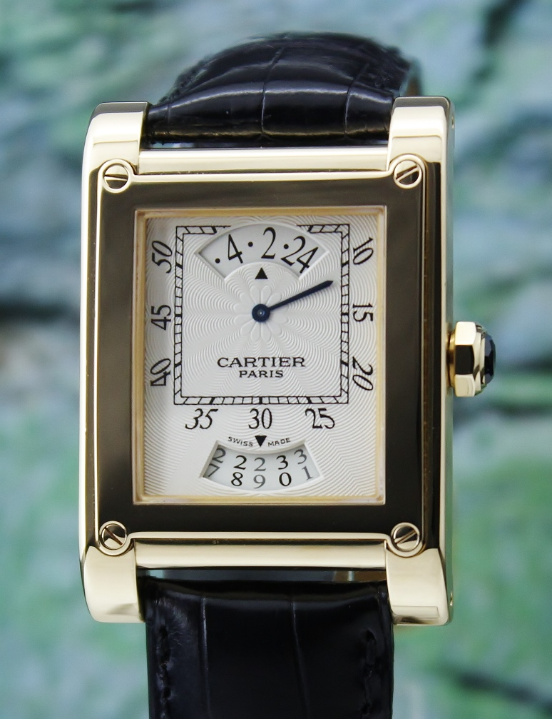 Cartier Manual Winding Privee Collection In 18k Yellow Gold / W1534451