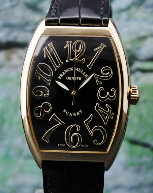 Franck Muller 18K Yellow Gold Automatic Watch / 6850 SC SUNSET