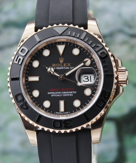 Rolex yachtmaster rose gold sg