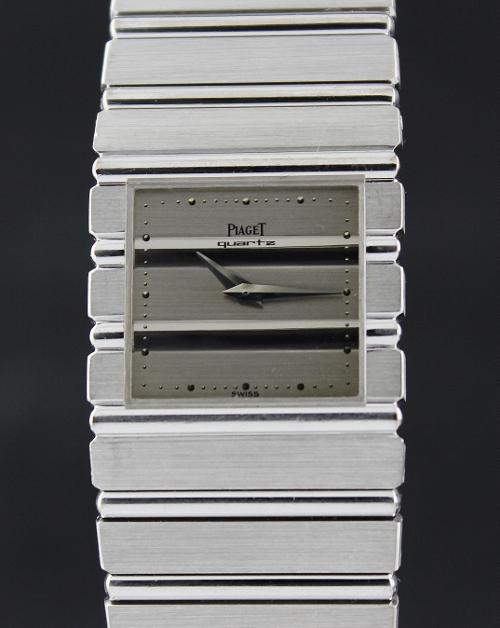 f20ed0155de PIAGET POLO 18K SOLID WHITE GOLD QUARTZ WATCH (Piaget)