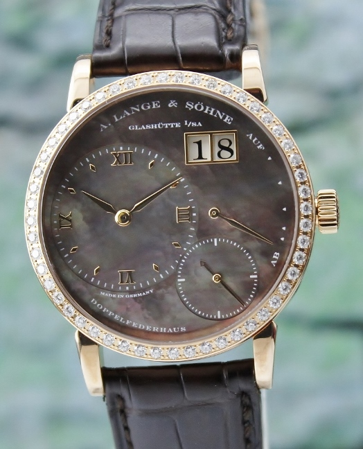 A. Lange & Sohne 18K Rose Gold Little Lange 1 Soiree Watch / 813.043