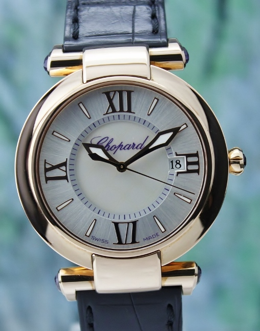 Unworn Chopard Imperiale18k Rose Gold Quartz Watch / 4221