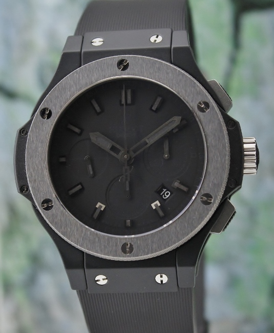 LIKE NEW HUBLOT BIG BANG ICE BANG ALL BLACK / 301.CX.1140.RX