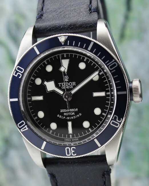 A TUDOR HERITAGE BLACK BAY BLUE / 79220B
