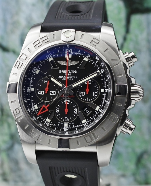 A Breitling Limited Edition 47MM Windrider Chronomat GMT / AB0412