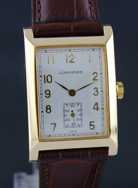 RARE LONGINES LIMITED EDITION 18K PINK GOLD MANUAL WINDING WATCH / L5 662 6