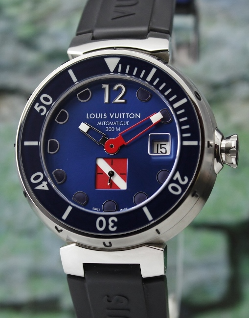 LOUIS VUITTON TAMBOUR AUTOMATIC WATCH / Q103F