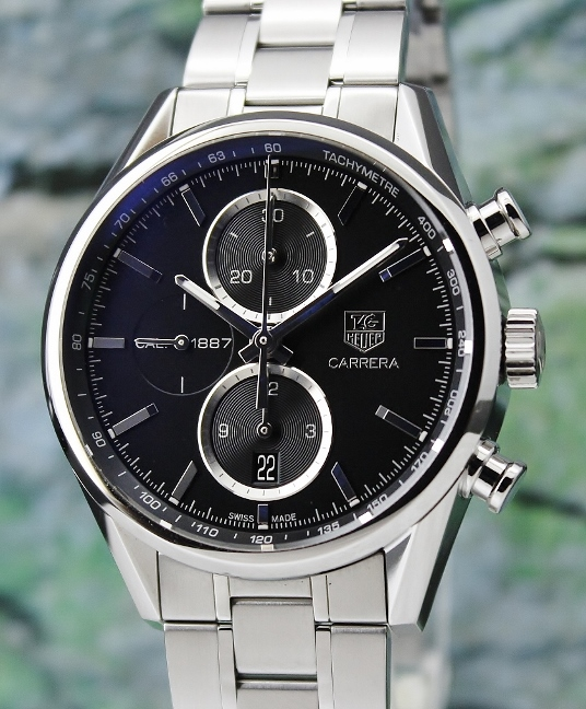 TAG HEUER Carrera Chronograph Automatic Watch / CAR2110-1