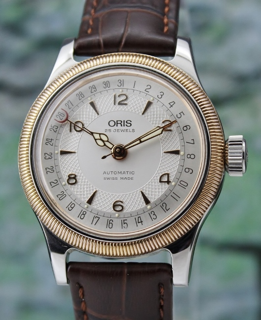 ORIS BIG CROWN STAINLESS STEEL AUTOMATIC MEN SIZE WATCH / 7463C