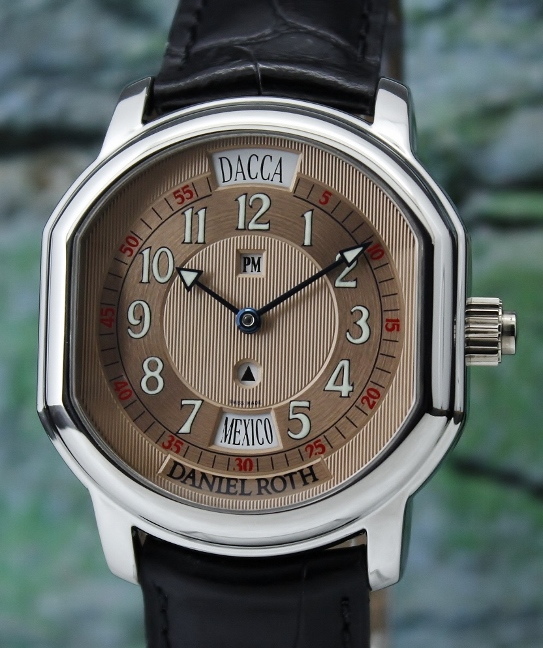 A DANIEL ROTH STAINLESS STEEL AUTOMATIC WATCH / 857.X.10.149.CN.BD