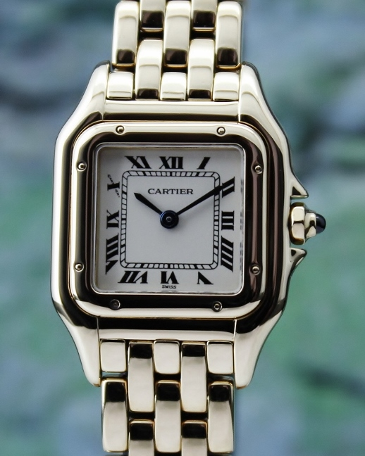 A Cartier 18K Yellow Gold Panthere Lady Watch