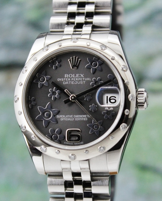 ROLEX MID SIZE OYSTER PERPETUAL DATEJUST / 178344 / CERT
