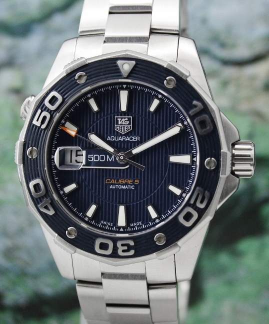 Tag Heuer Aquaracer 500M Calibre 5 Automatic Watch / WAJ2112