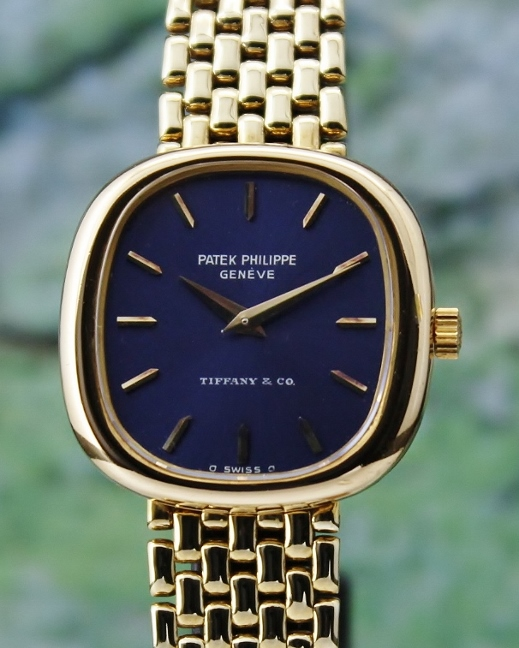 "Patek Philippe 18K Yellow Gold ""Tiffany & Co"" Lady Watch"