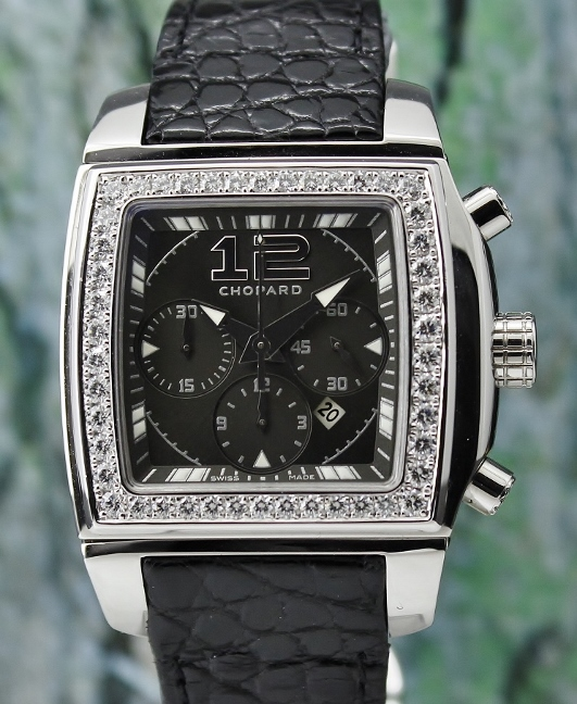 Chopard Two O Ten Chronograph Tycoon Diamond Watch