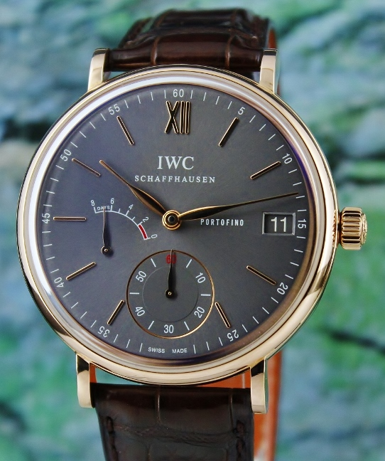 IWC 18K Rose Gold Portofino Manual Winding Eight Days Power Reserve / IW510104