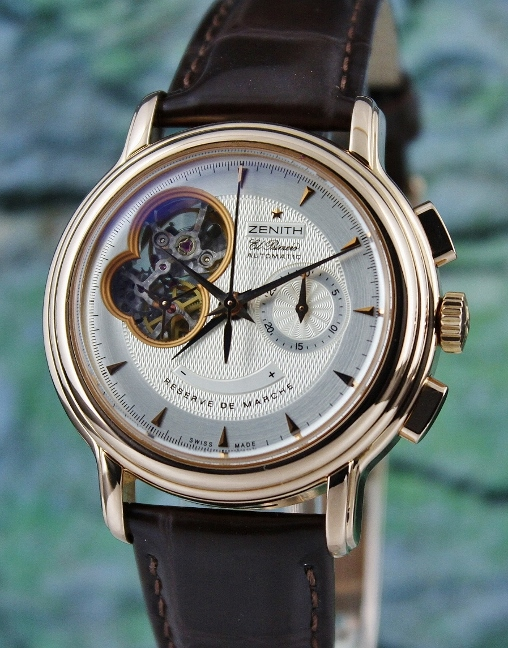 Zenith 18K Rose Gold Chronomaster Automatic Watch