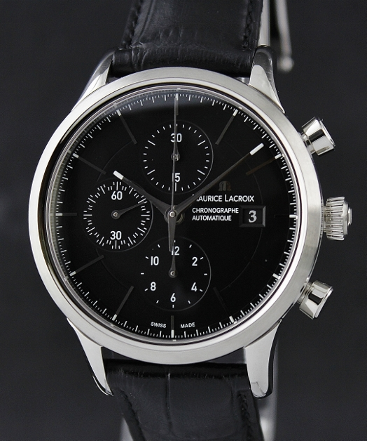 A BRAND NEW MAURICE LACROIX AUTOMATIC CHRONOGRAPH WATCH / LC6058-SS001-330