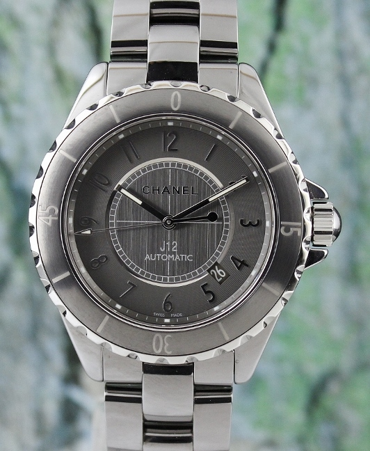 A CHANEL J12 CHROMATIC AUTOMATIC 41MM TITANIUM CERAMIC