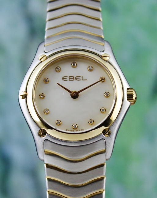LIKE NEW EBEL LADY SIZE CLASSIC WATCH / MOP