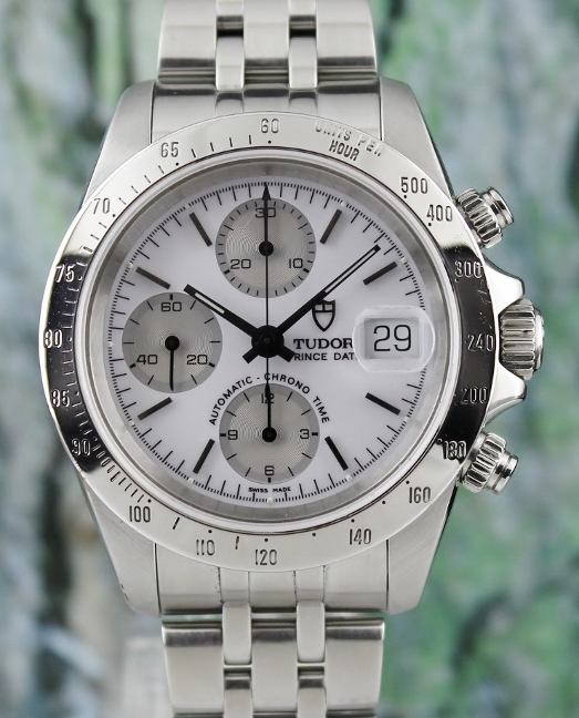 A STAINLESS STEEL TUDOR PRINCE DATE CHRONOGRAPH WATCH (DAYTONA VERSION) / 79280