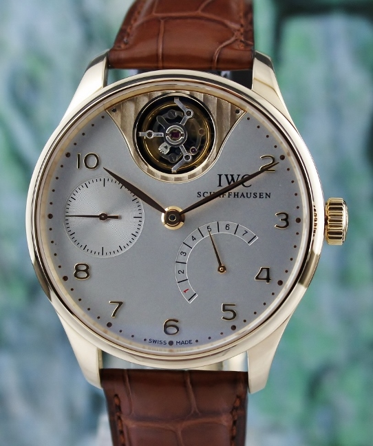 IWC PORTUGUESE TOURBILLON MYSTERE 18K ROSE GOLD LIMITED EDITION 250 PIECES