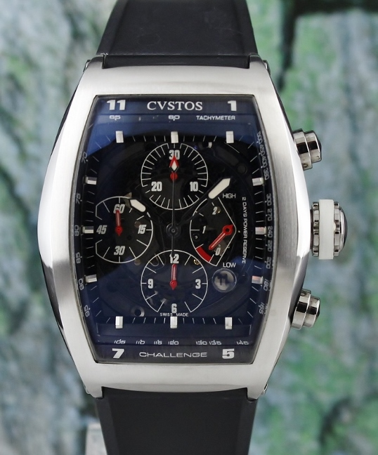 A CVSTOS CHALLENGE CHRONOGRAPH WATCH