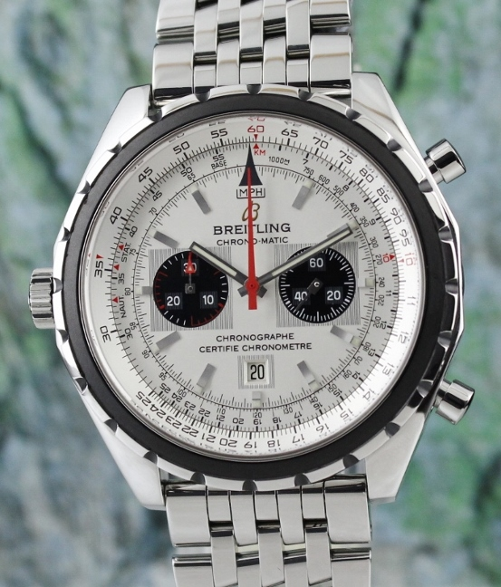 Breitling Stainless Steel Chrono-Matic Automatic watch / A41360
