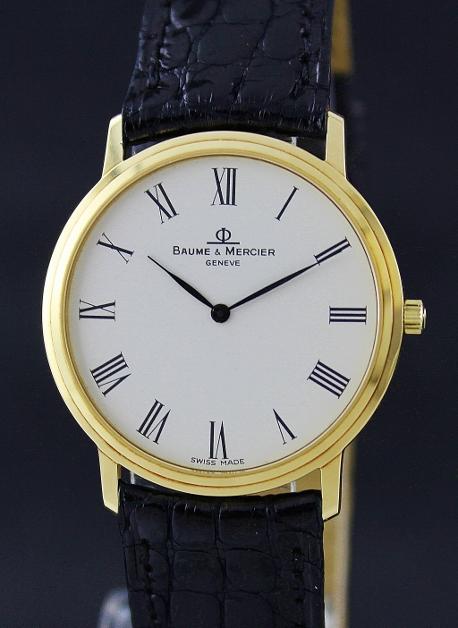 90a64cd3e65 Baume   Mercier Classic Ladies Wristwatch   MOA08569 (Baume   Mercier). Quartz  movement ...