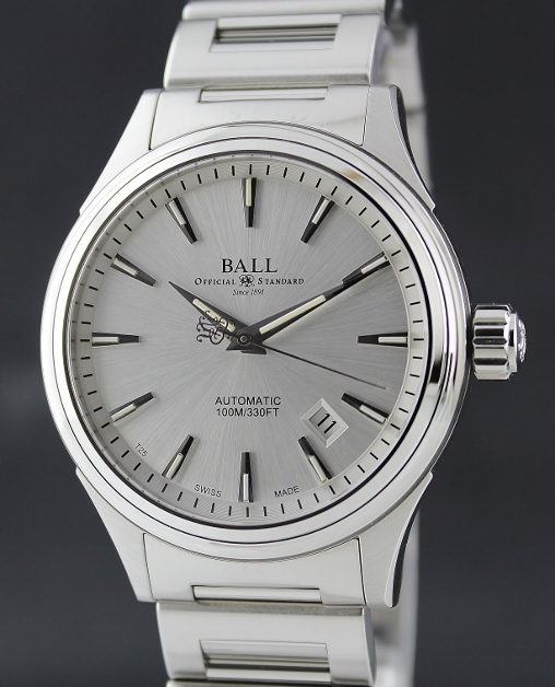 NEW UNWORN BALL STAINLESS STEEL AUTOMATIC WATCH / NM2098C