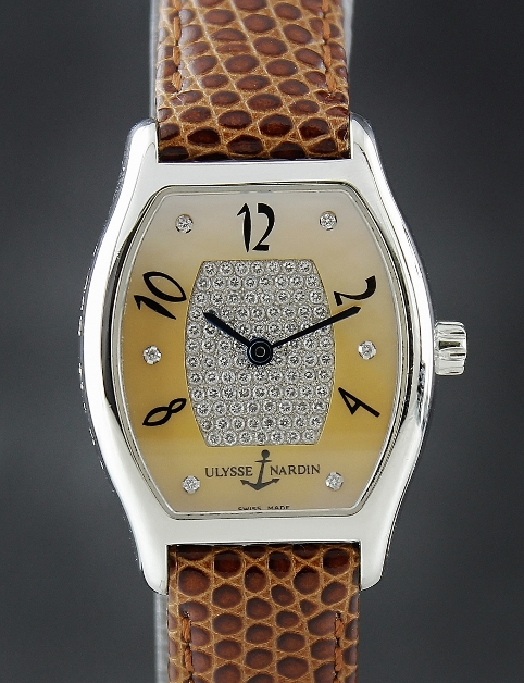 A Ulysse Nardin Michelangelo Automatic Lady Watch / 103-42/095A