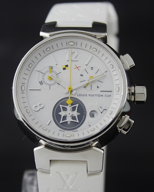 LIKE NEW Louis Vuitton Tambour Lovely Cup / Q 132 C