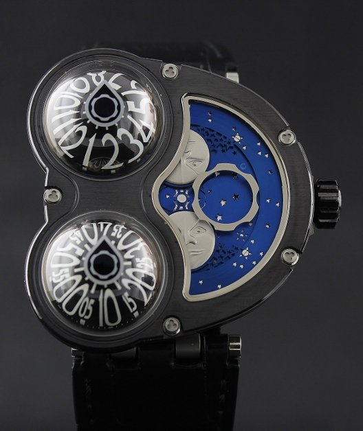 A LIMITED EDITION 18 PIECES MB&F HM3 MOON WATCH