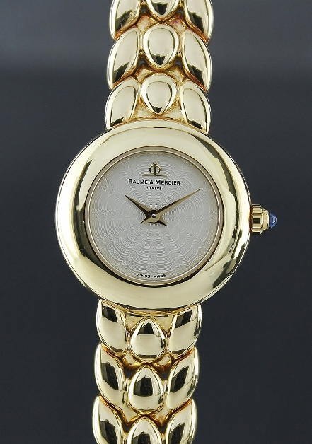 Baume & Mercier 18K Solid Gold Lady Watch