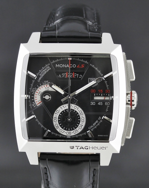 be87614bdcf TAG HEUER Monaco LS Calibre 12 Chronograph Automatic Watch   CAL2110.FC6257