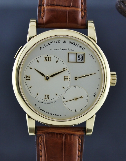 LIKE NEW A. Lange & Sohne Lange 1 Yellow Gold Manual Winding Watch