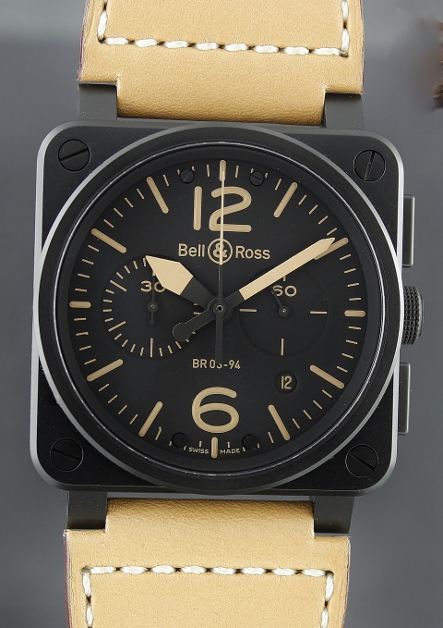 A NEW UNWORN Bell & Ross Heritage BR 03-94 Limited Edition