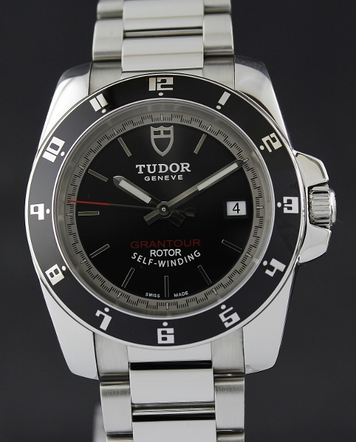 A TUDOR STAINLESS STEEL AUTOMATIC GRANTOUR / 20050N