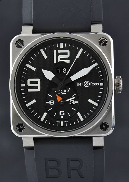 A LIKE NEW Bell & Ross BR Instrument BR 03-51