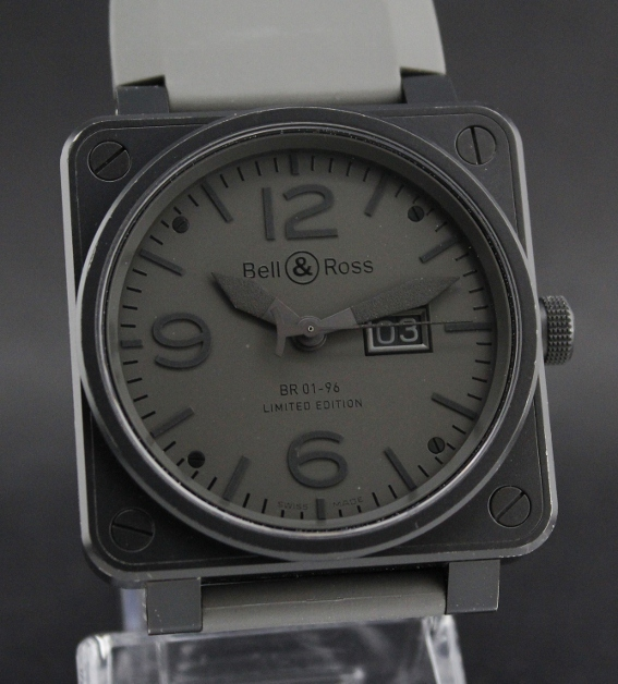 Bell & Ross BR 01-96 Limited Edition 500 Pieces / Commando