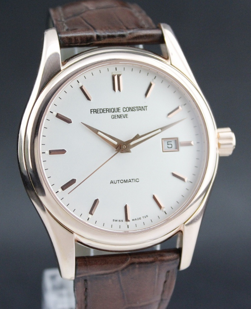 A FREDERIQUE CONSTANT PINK GOLD AUTOMATIC WATCH