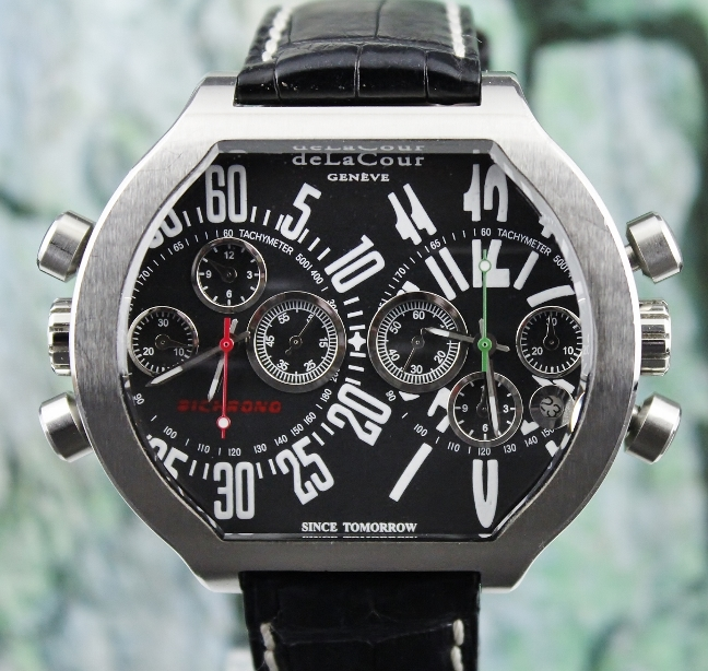 A deLaCour Limited Edition 222 Pieces SII BICHRONO